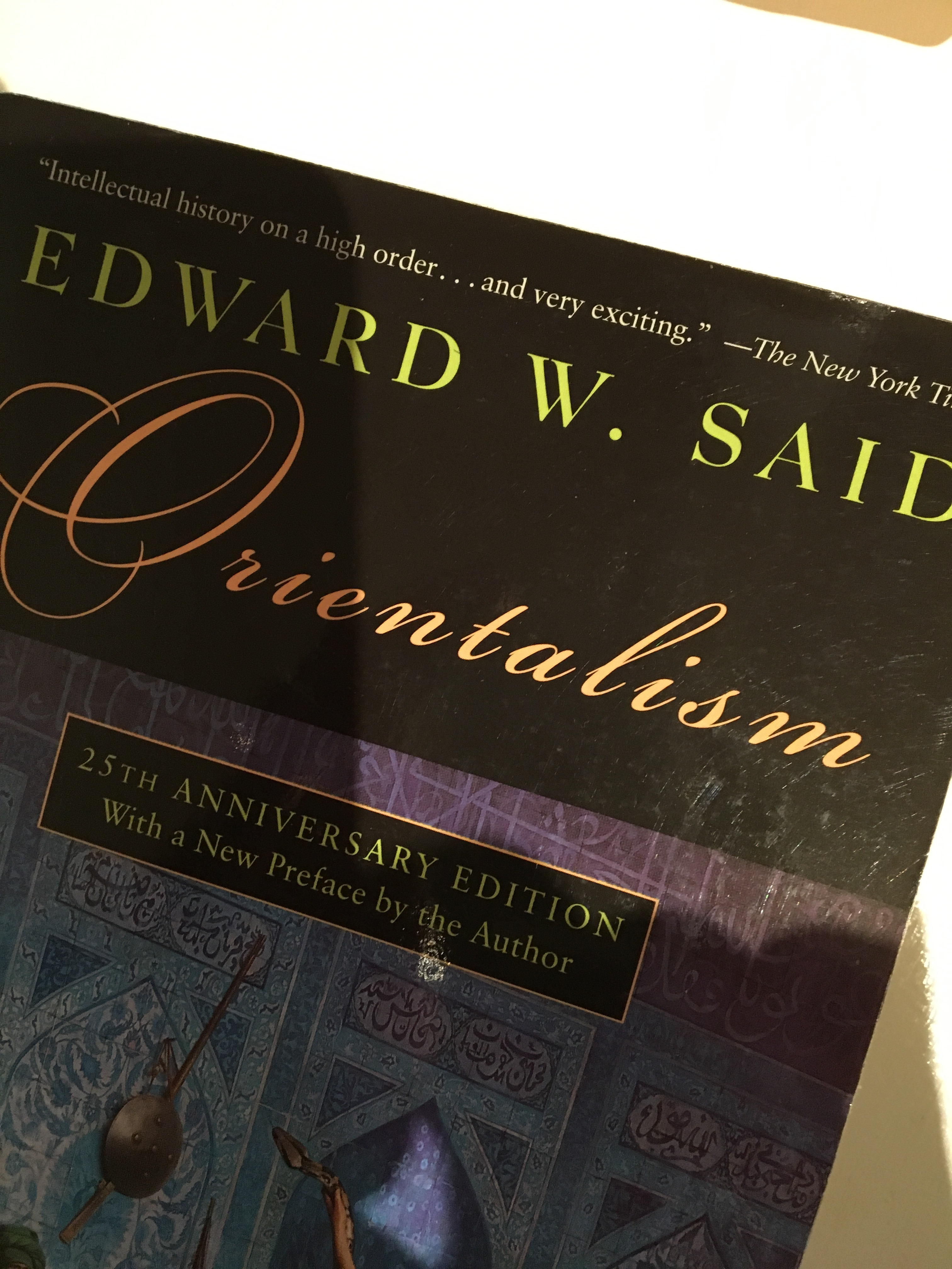 edward said orientalism essays Reflections on exile and other essays brings together forty-six essays a custom essay sample on edward said empire & orientalism from edward said.